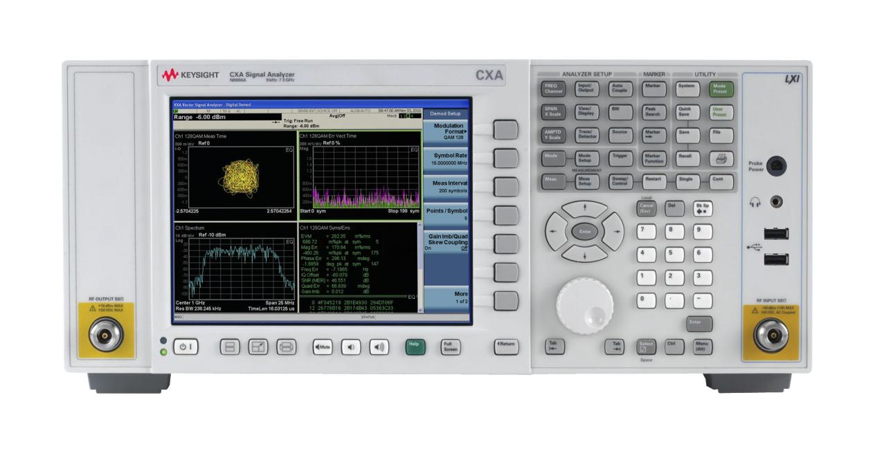 合肥N9000A CXA 信号分析仪(9 kHz 至 26.5 GHz)