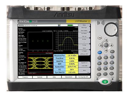LMR Master™ 陆地移动无线电调制分析仪 S412E